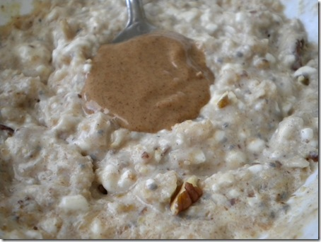 oatmeal and almond butter