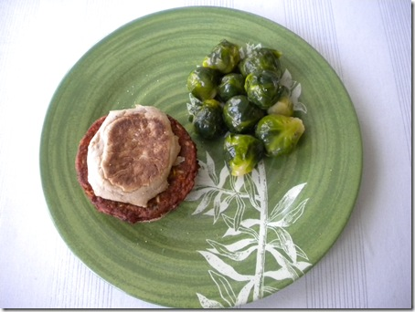burger and sprouts