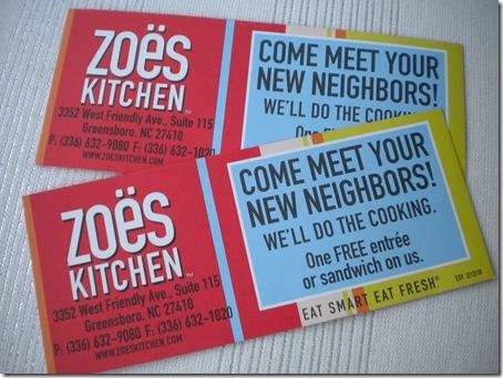 zoe's coupons