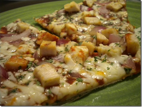 barbeque pizza