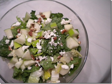 maple & goat cheese salad