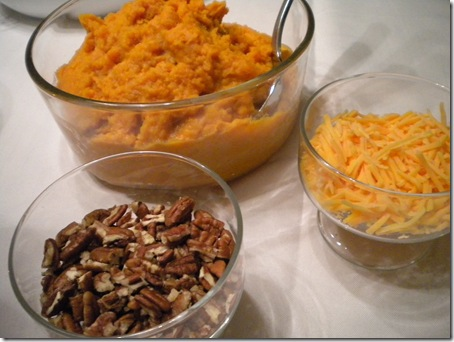 sweet potato bar