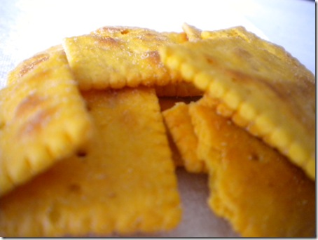 Kashi cheese crackers