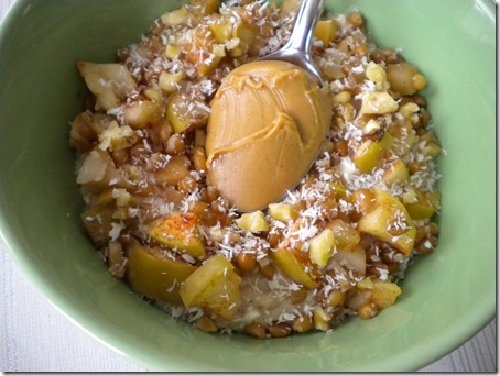 apple banana oatmeal