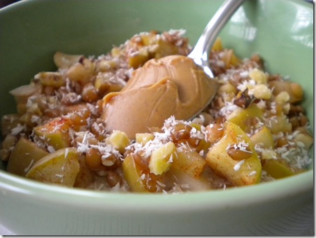 banana apple oats