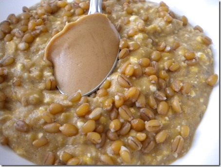 oats with wheatberries