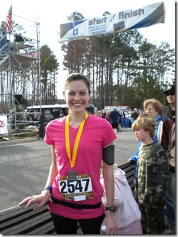 half marathon finisher