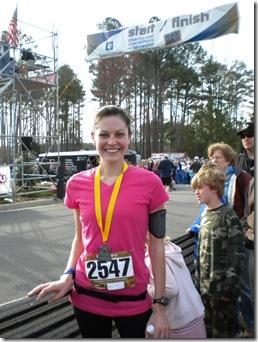 half marathon finisher