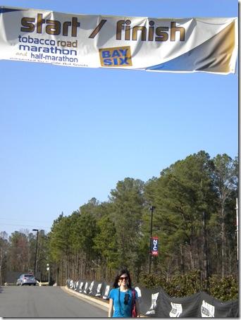 half marathon starting line