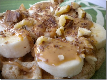 loaded waffle