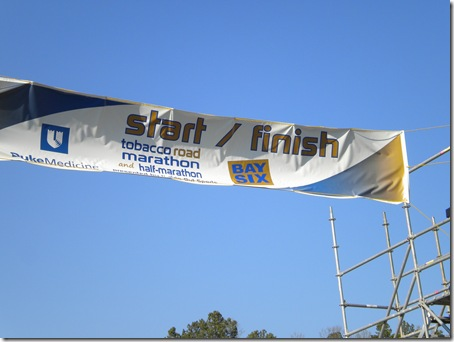 marathon start & finish