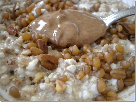 oats & almond butter