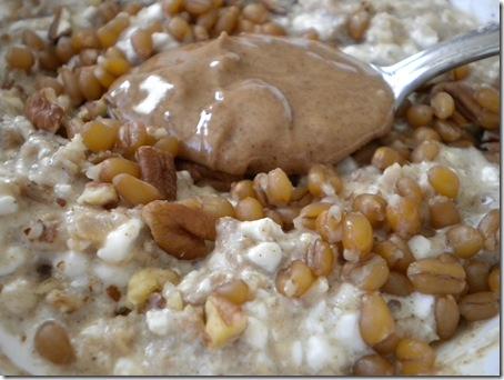 oats & almond butter
