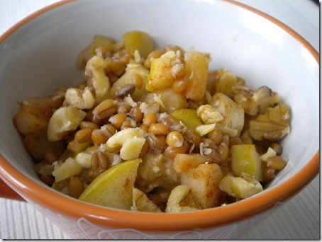 pumpkin apple oats
